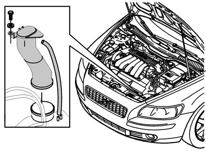 Volvo S40 T5 With Headlamp Washers Windshield And Headlamp Washers