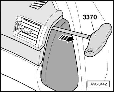 i have a broken glove compartment box on audi a4 avant 08. Black Bedroom Furniture Sets. Home Design Ideas