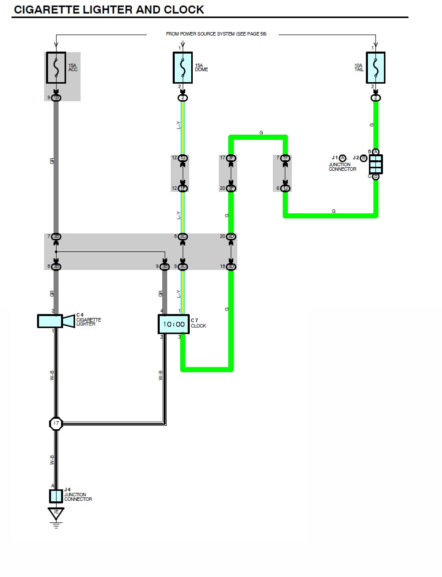 Runner Clock Wiring Diagram on 97 4runner wiring diagram, 99 4runner engine, 99 4runner parts diagram, 99 4runner exhaust system, 99 4runner suspension,