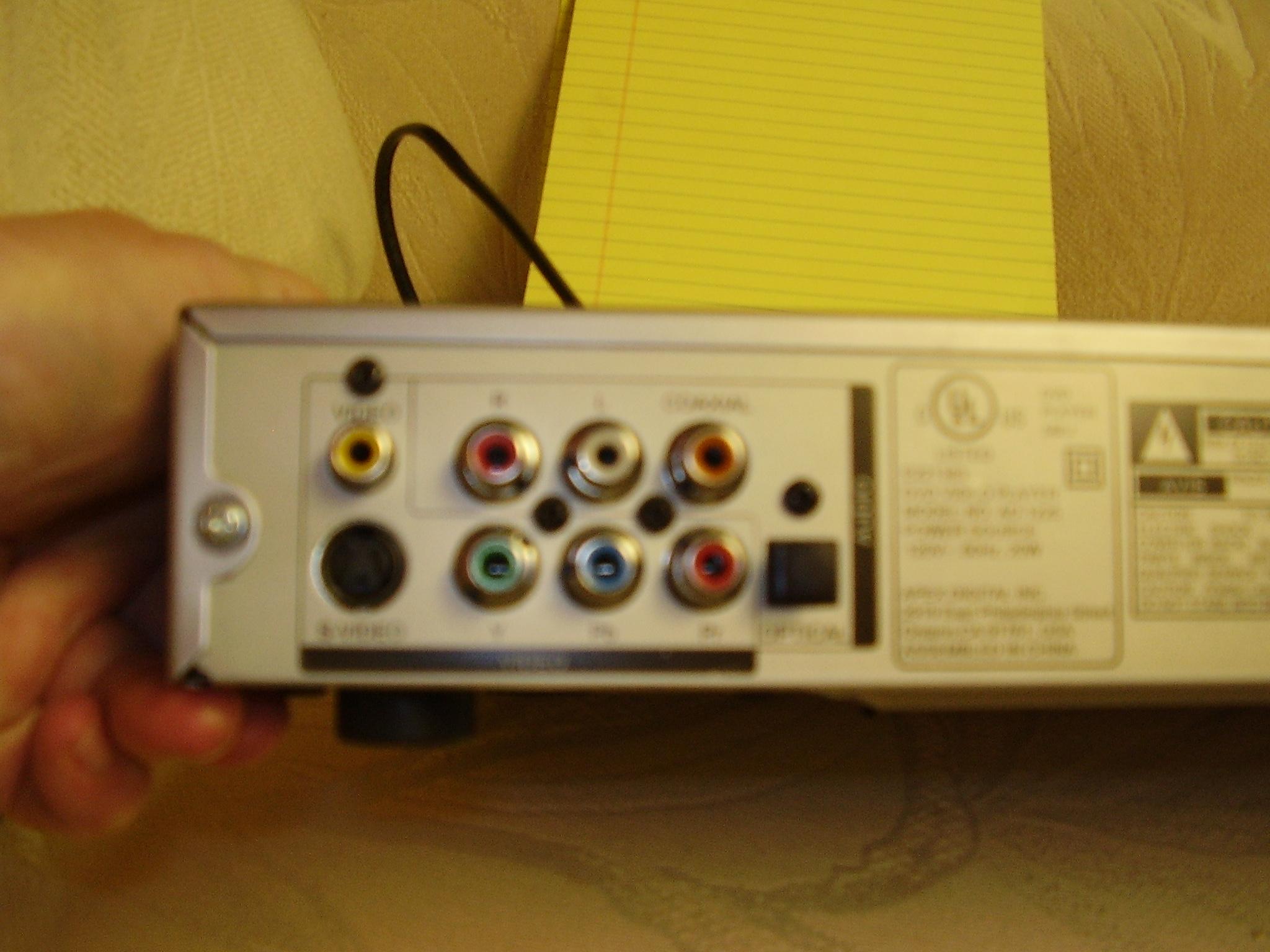 HT-r320 Onkyo hookup