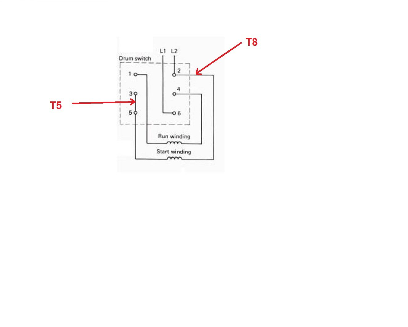 Wiring Diagram Drum Switch : Square d drum switch ag wiring diagram