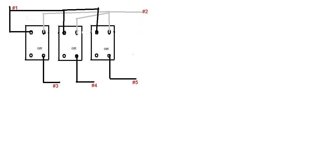 3 Gang Switch Wiring Diagram : Gang dimmer switch wiring diagram circuit and