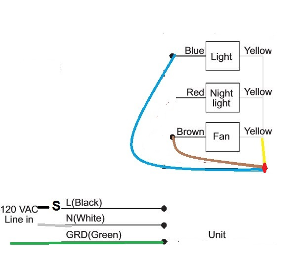 2013 08 15_231418_vent_fan i have purchased the hampton bay bathroom fan model vfb25acled1 5 nutone bathroom fan wiring diagram at crackthecode.co