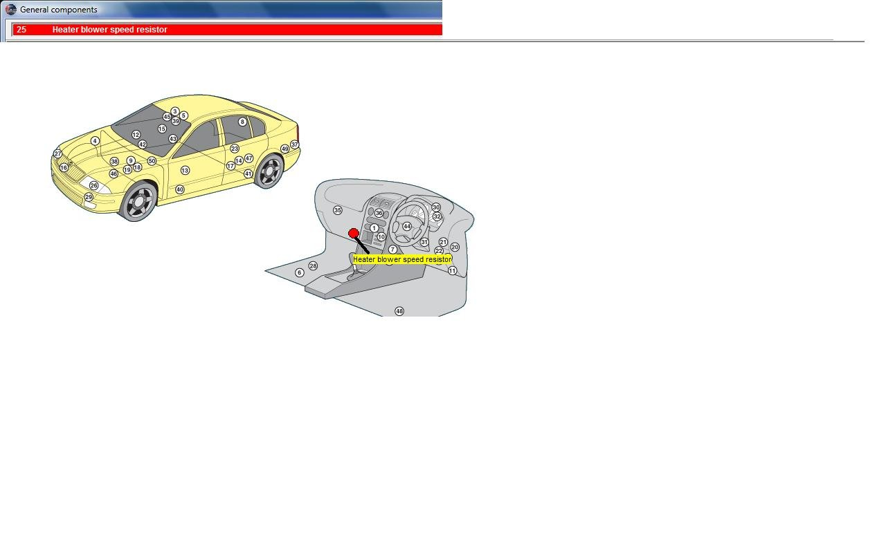 Skoda Octavia The Heating Fan On My Is Not Working Fuse Box A Graphic