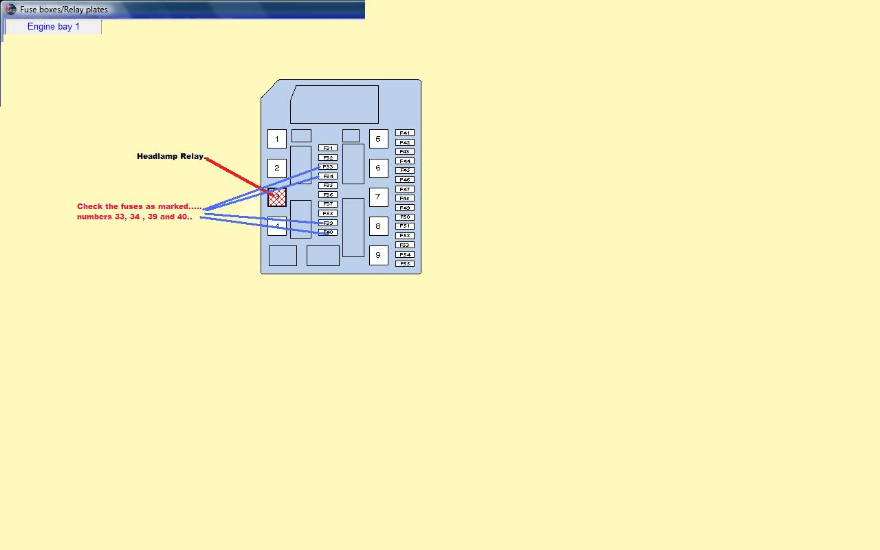 Nissan Micra Fuse Box Diagram Auto Electrical Wiring 1999 1800