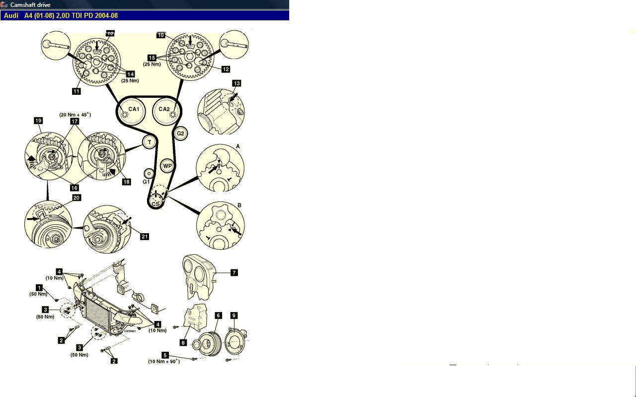 Where Can I Get A Reliable Workshop Manual Procedure On How To. Audi. 2006 Audi A4 Belt Diagram At Scoala.co