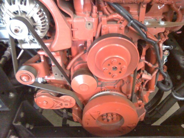 2005 Dodge Ram 3500 5 9ltr Diesel  Tensioner Broke  U0026 Had To Replace  No Routing Diagram For