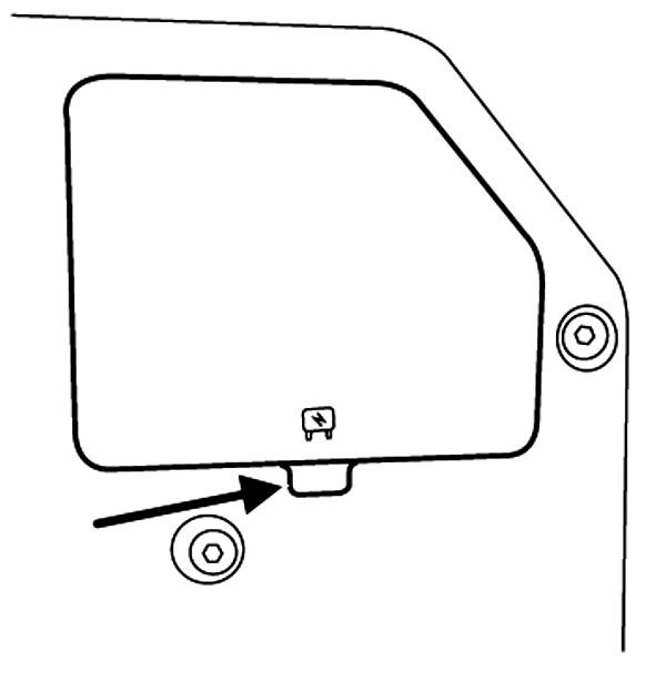 where is the fuse for the turn signal - rear left