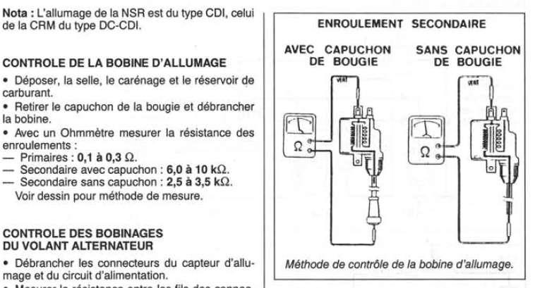 i have a honda crm 50 approx 1995 still awaiting confirmation rh justanswer com CDI Tester Diagram CDI Box Circuit Diagram