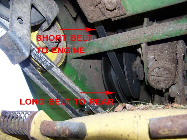 I Can Not Find A Belt Diagram For My Deere 112  I Can Not