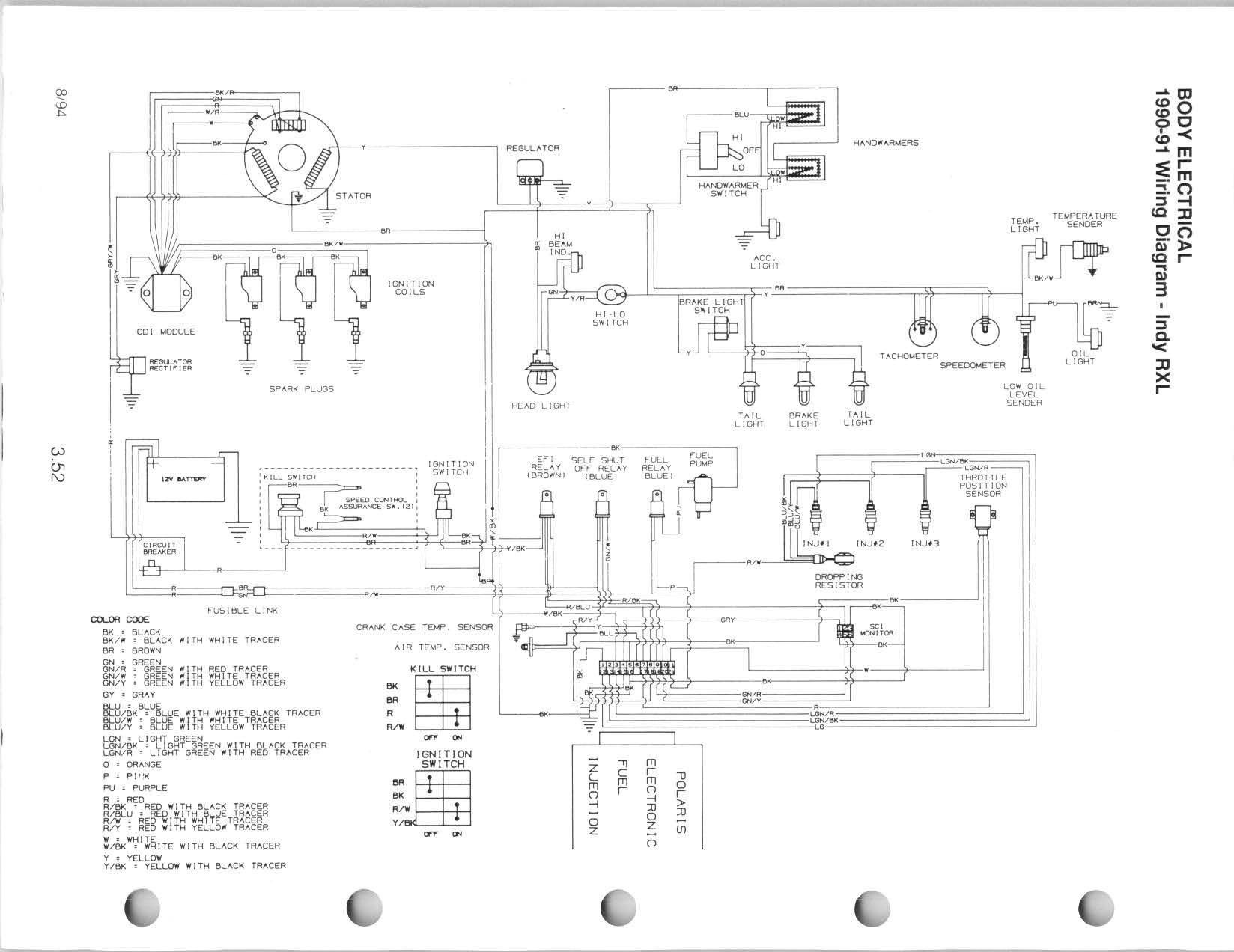wiring diagram for 1991 polaris rxl wiring diagram for 97 polaris 425 magnum