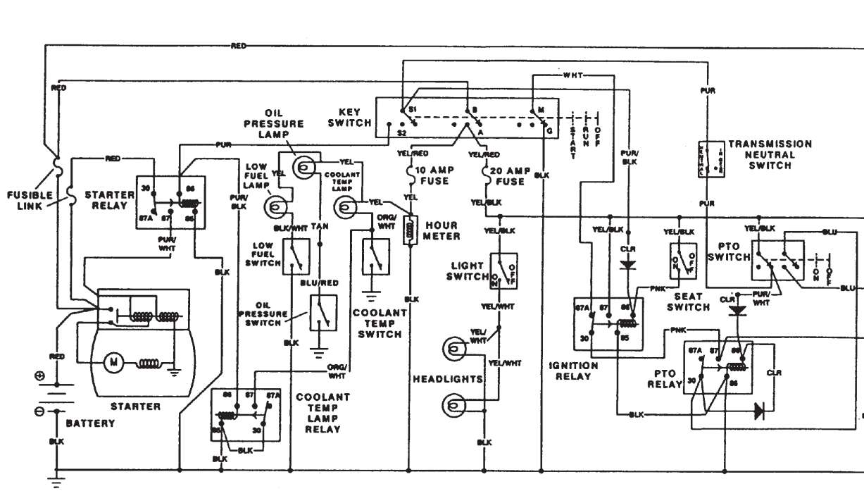 can someone get me a readable version of the wiring