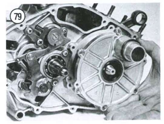 Kawasaki ke100 replaced the clutch and now it won t start