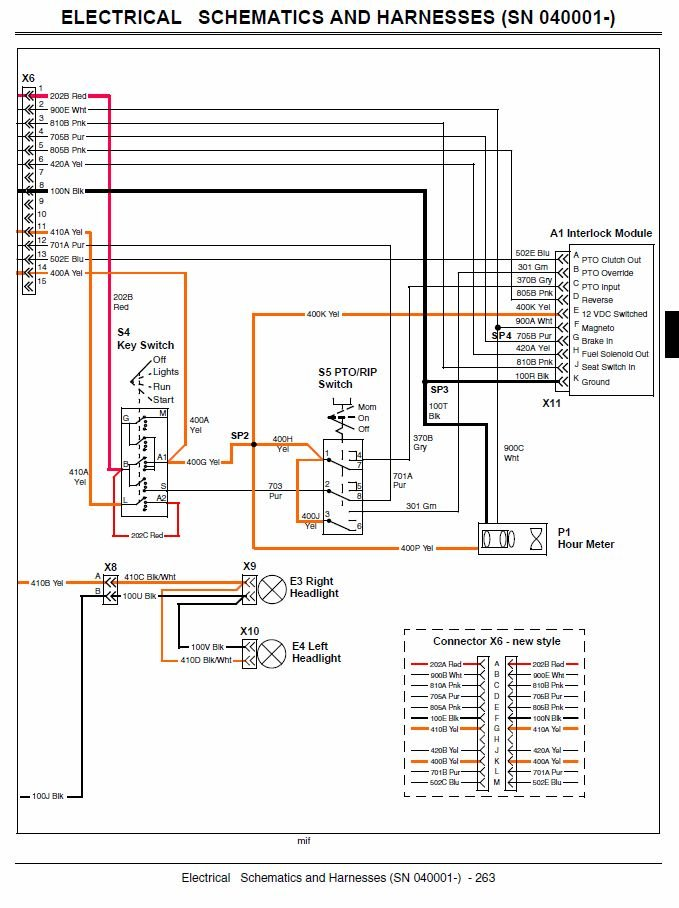 Download Electrical Schematic X300