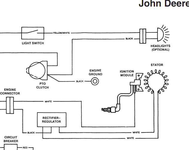 i have a deere stx 38 (yellow deck) with a kohler 12.5 hp ... 1 2 hp kohler wiring diagram #7