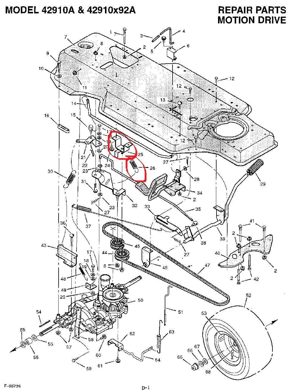 Yard Machine Drive Belt Diagram as well Murray 38 Drive Belt Diagram in addition Murray Lawn Mower Belt further Murray Riding Mower Parts Diagram in addition 102180. on murray motion belt replacement diagram
