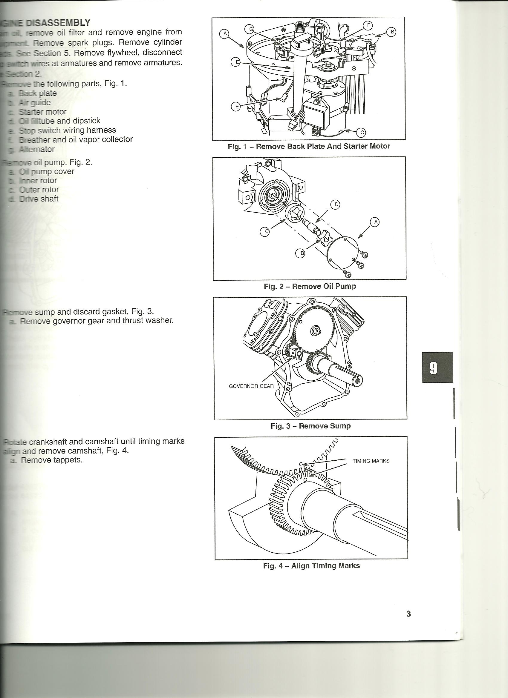 I have a b&S 20 hp intek v twin I pulled the engine and replaced the