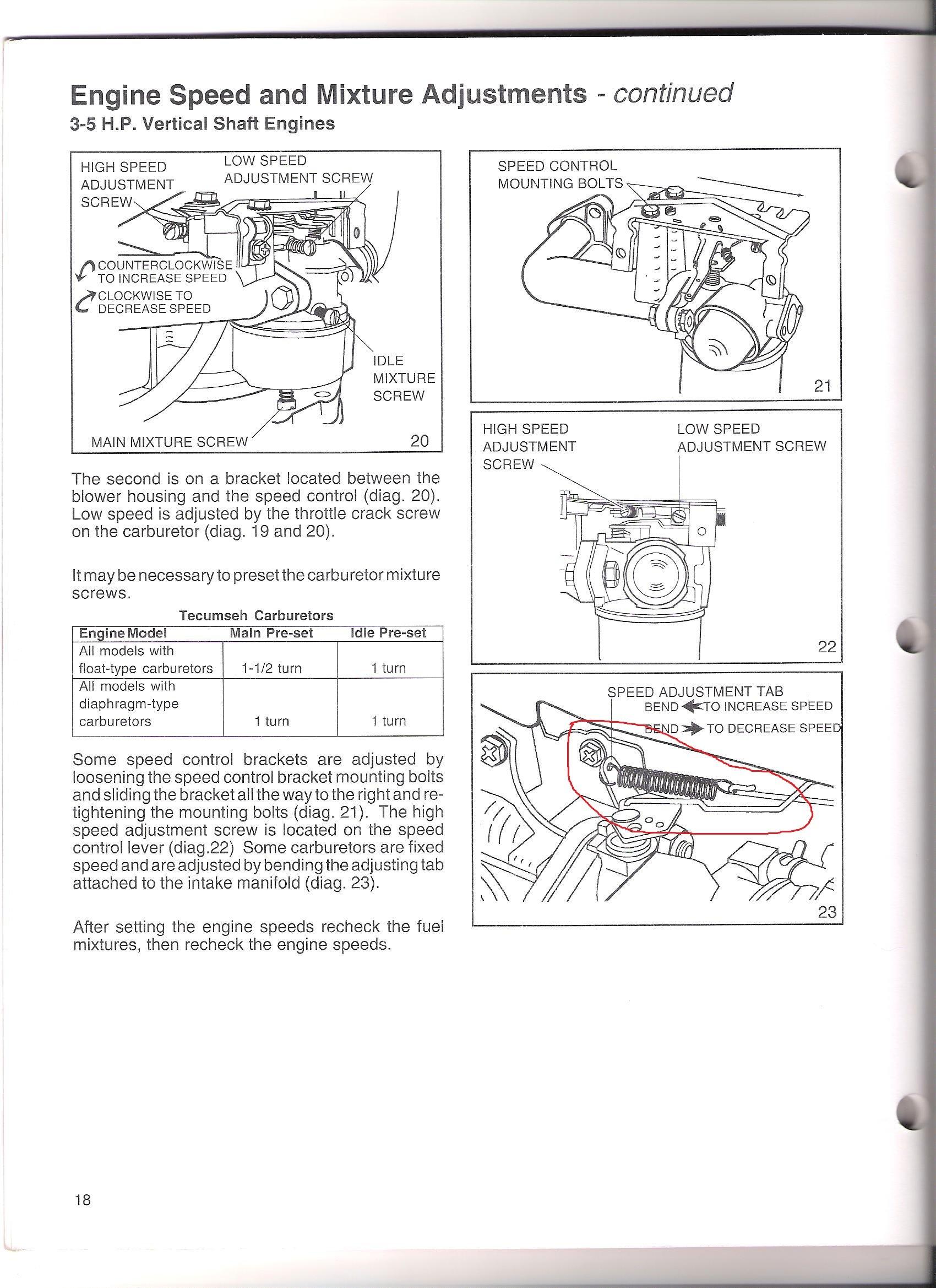 I have a Toro mower mod.#20016 sgl speed 6.0HP. I just rebuilt