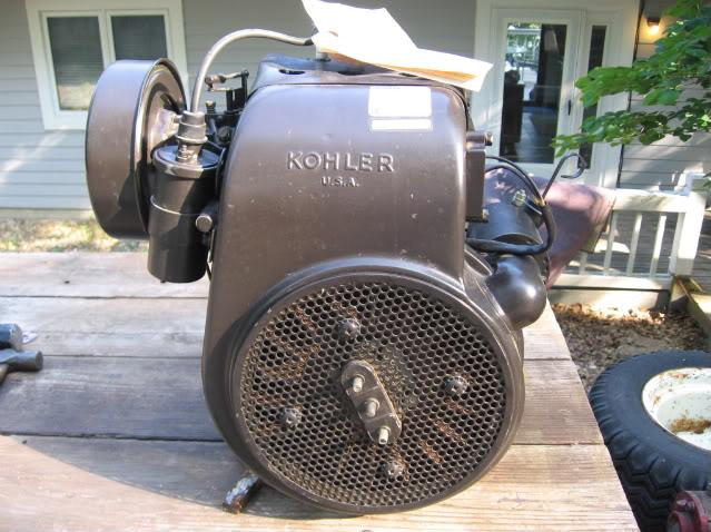 I have a Wheelhorse tractor with a Kohler Model K 301 S 12HP