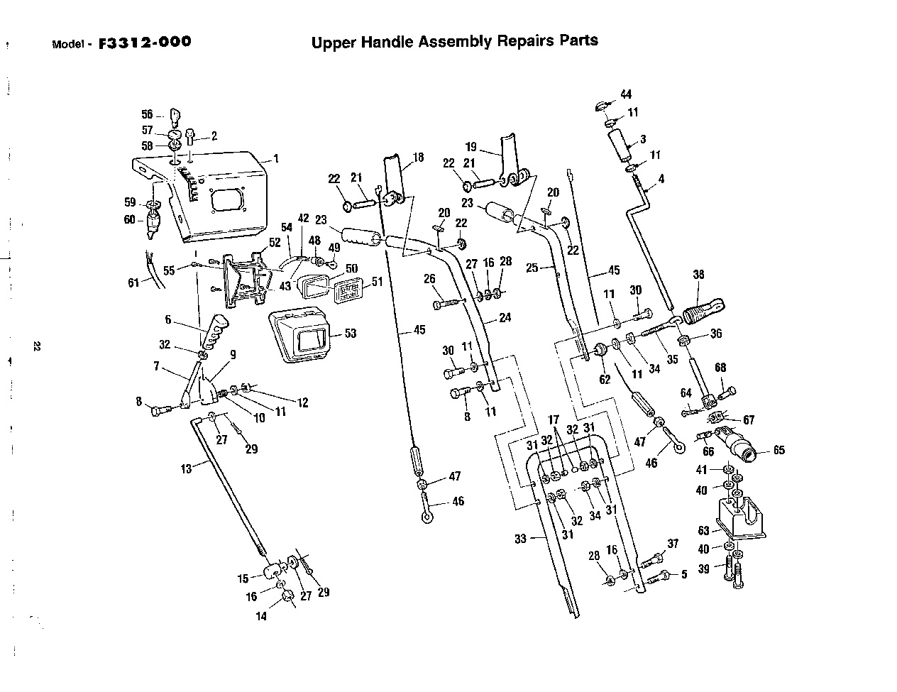 engine missing from noma 1232 snowblower is it possible to find out original engine model and