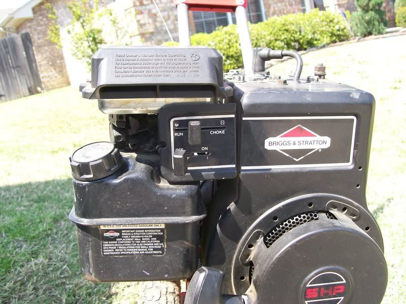 I Have A Briggs 5hp01 When Adjusting The Throttle Control