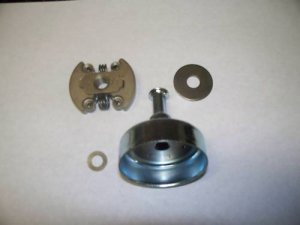 This Is One Of Two Types Clutches Used The Ger Clutch Has 2 Purple Springs