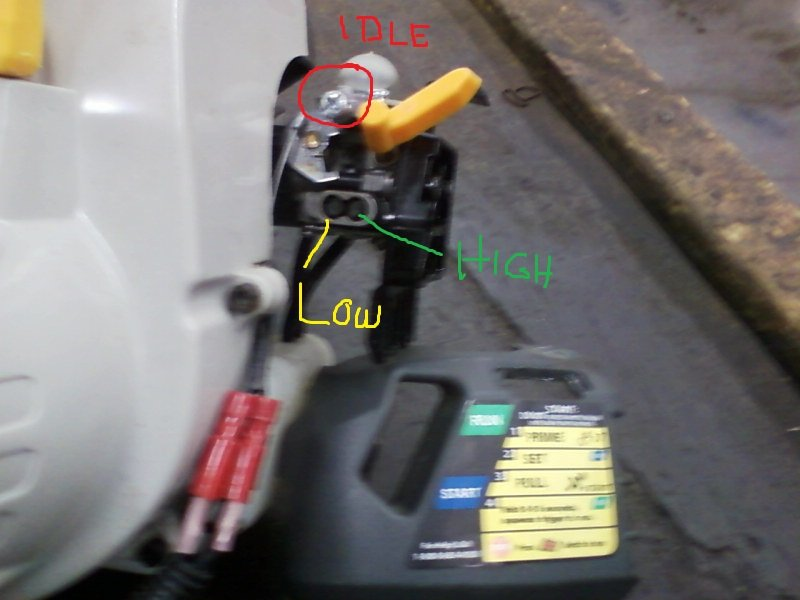 I have a ryobi SS26 trimmer  Will not start properly  In full