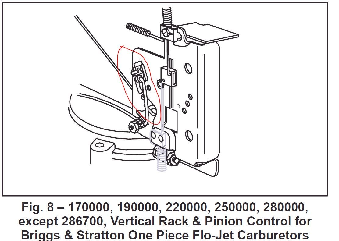 On a model 220707 how does the choke link 261610 connects to full size image biocorpaavc Image collections