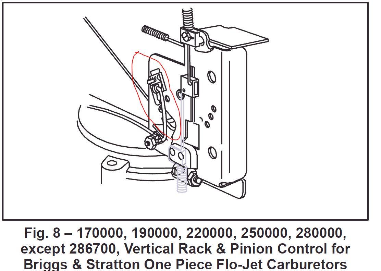 Choke Link on 5 Hp Briggs And Stratton Carburetor Diagram