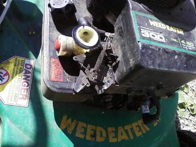 I have a 45    hp    BS engine on a Bolens    21     push mower The spec plate lists the model number as