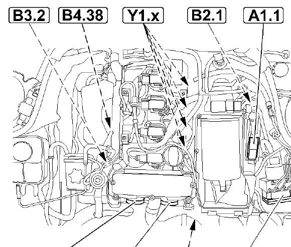 I Change The Oil On A C180 It Run Ok But Then The Engine Light Came