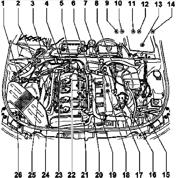 Audi B6 A4 Engine Diagram Download Wiring Diagrams