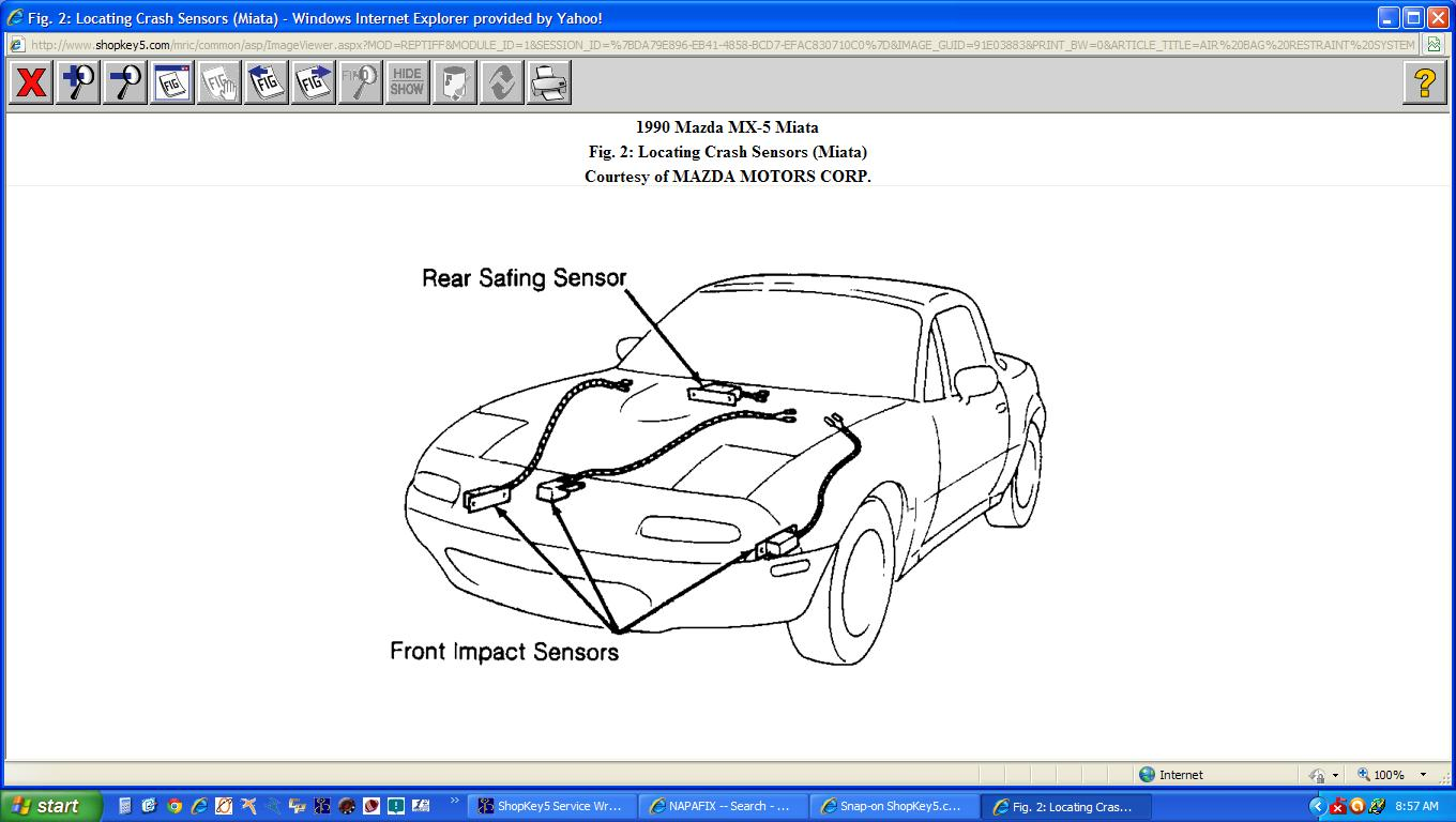 Mazda 2 Airbag Wiring Diagram : I have a mazda miata it recently had water damage