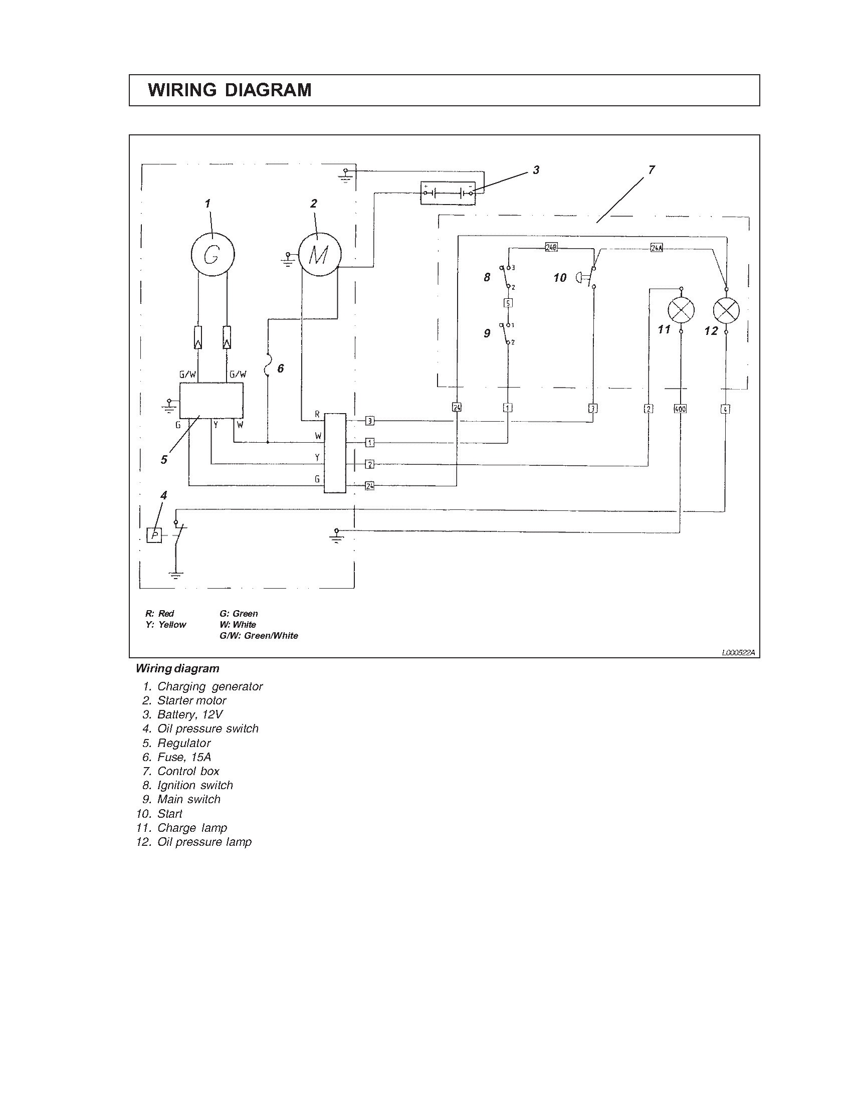 Yanmar Kill Switch Wiring Schematics Diagrams Car Diagram I Have A L 70 Engine And Bought 12v Starter Kit Key Rh Justanswer Com Guitar Schematic Small