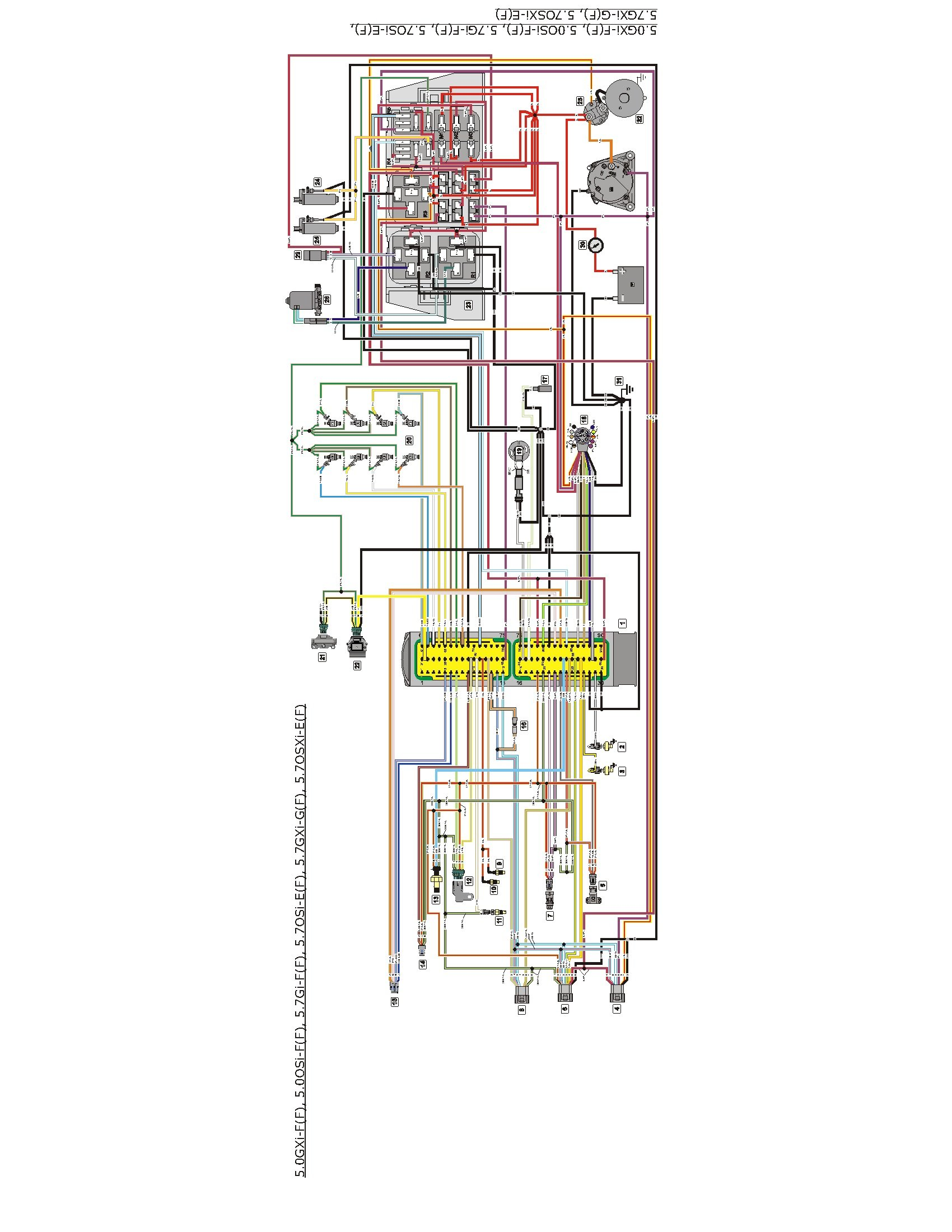 volvo penta marine wiring electrical wiring diagram guide One Wire GM Alternator Wiring