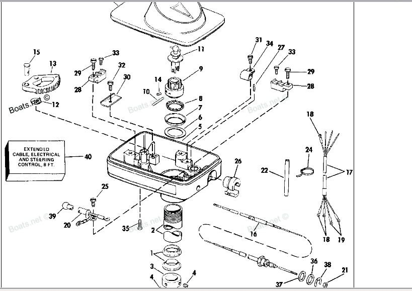wiring diagram motorguide foot pedal