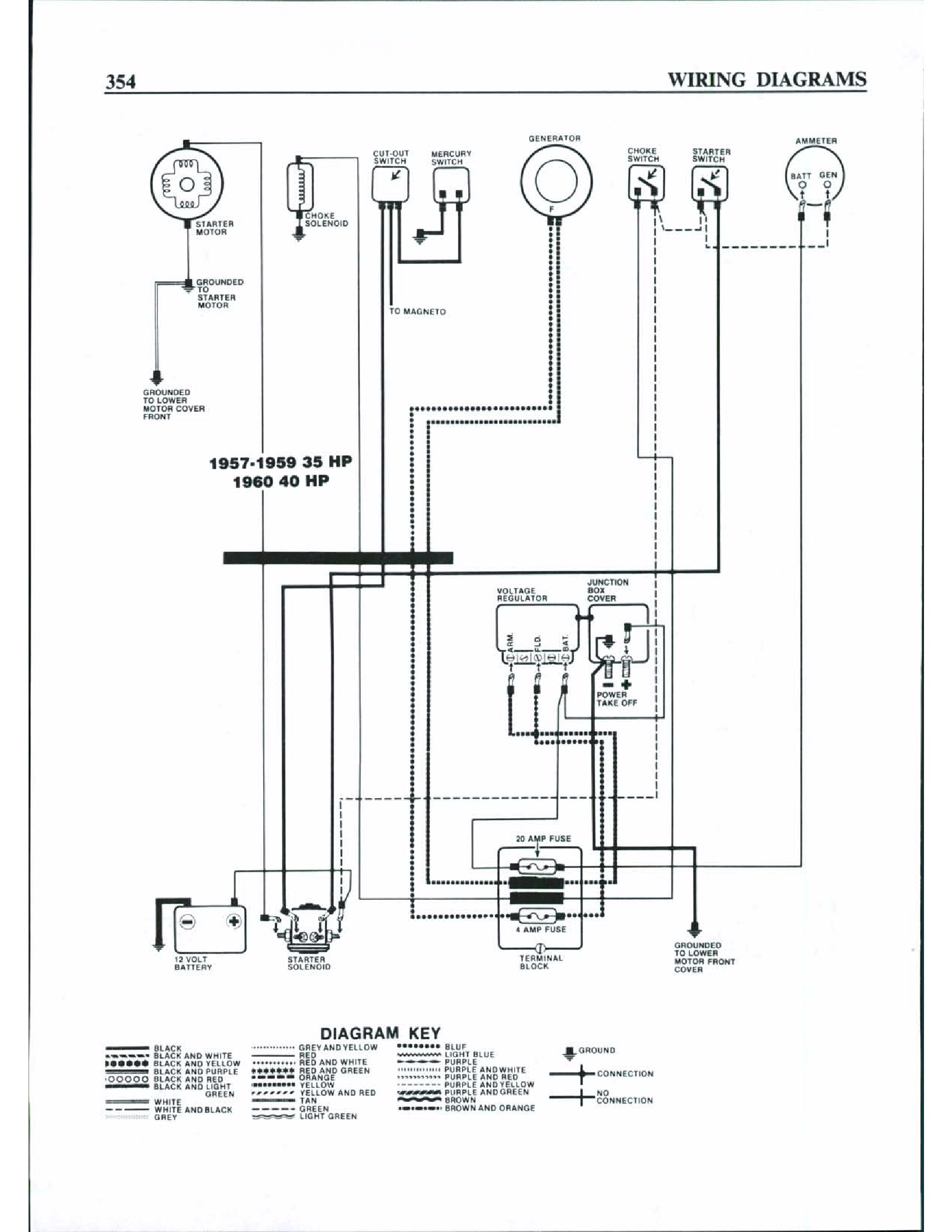 I Need A Complete Wiring Diagram For A 35 Hp 1959 I Can