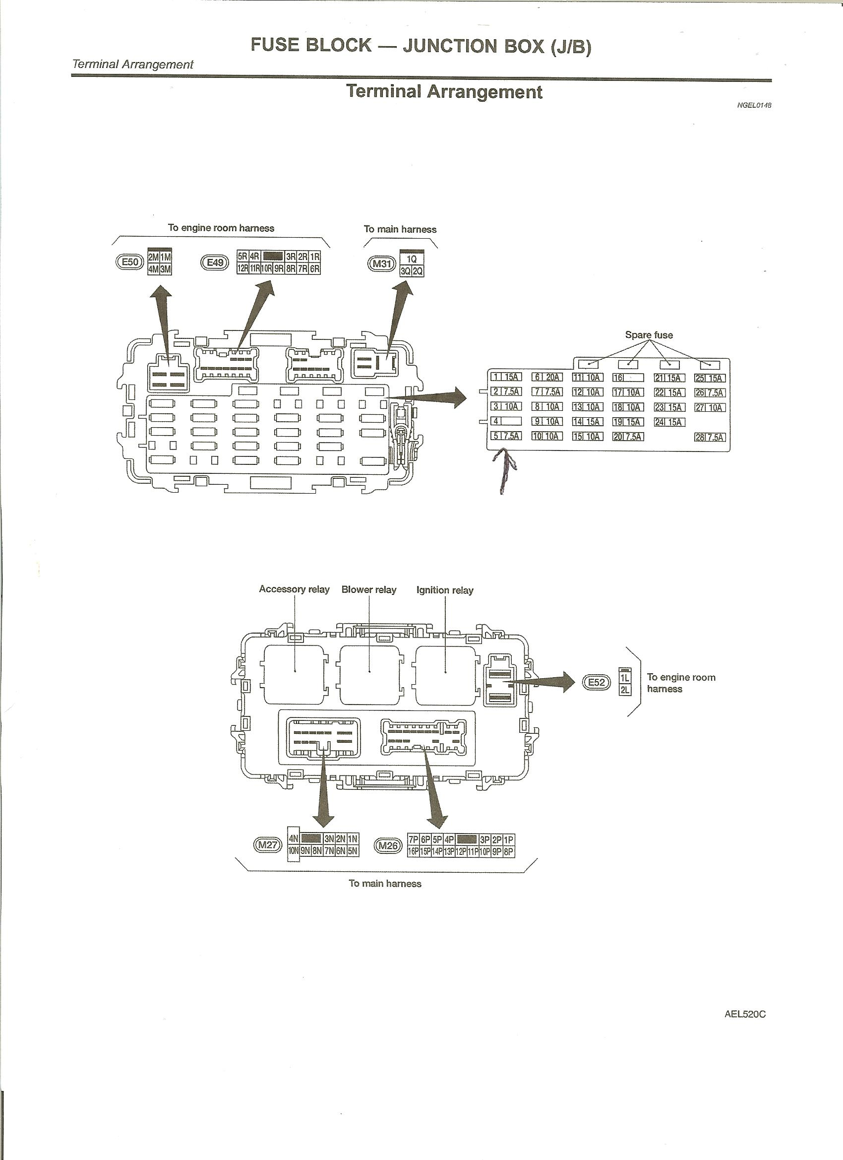 2000 Nissan Xterra Fuse Box Diagram Wiring Diagrams Frontier 3 Engine Dimarzio Free Image For 2002 2003