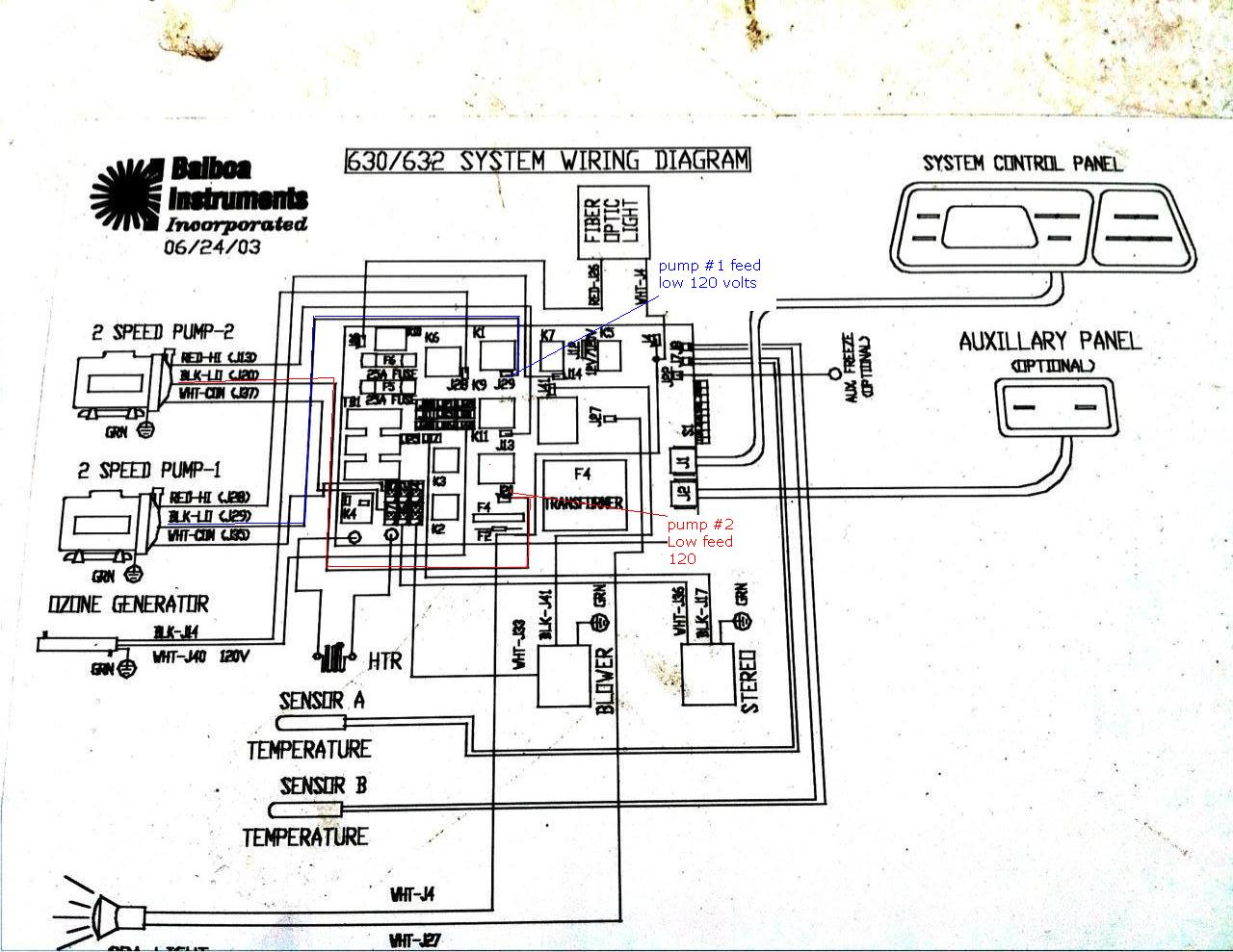 Wiring Diagram For Beachcomber Hot Tub : I have a spas model dlx it has two motors and the