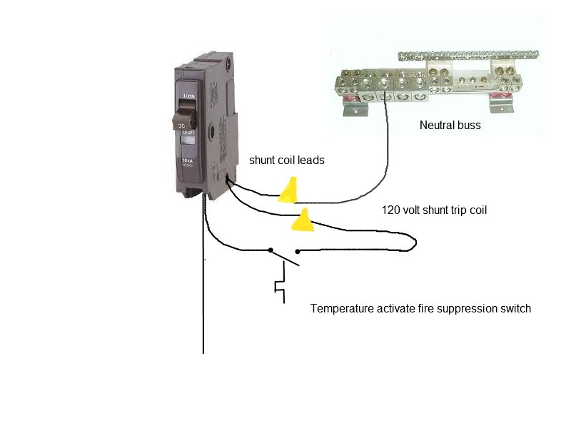 i am wiring an ansul fire suppression system and need to