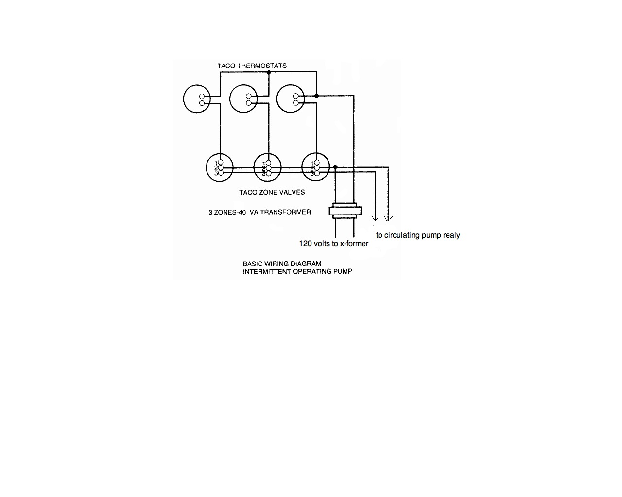 Taco Circ Relay Wiring Free Diagram For You Honeywell Zone Valve I Am An Electrician And My Plumber Wants Me To Wire A Switching