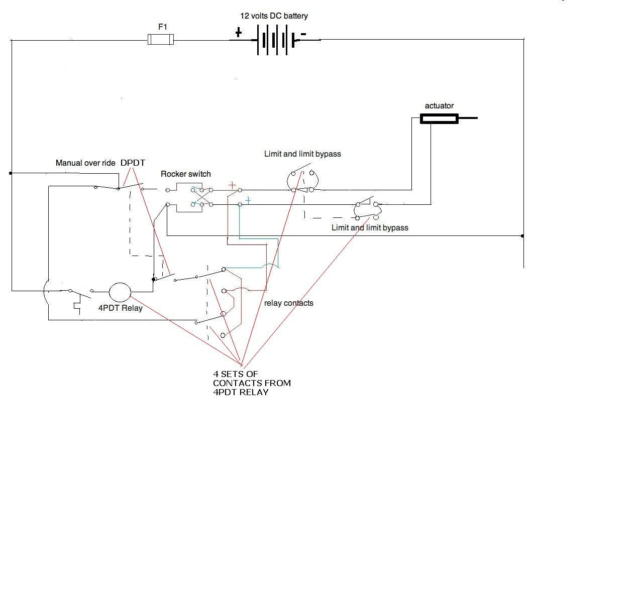 I Need A Wiring Diagram For 12v Application All Components Are Toggle Switch Home Graphic