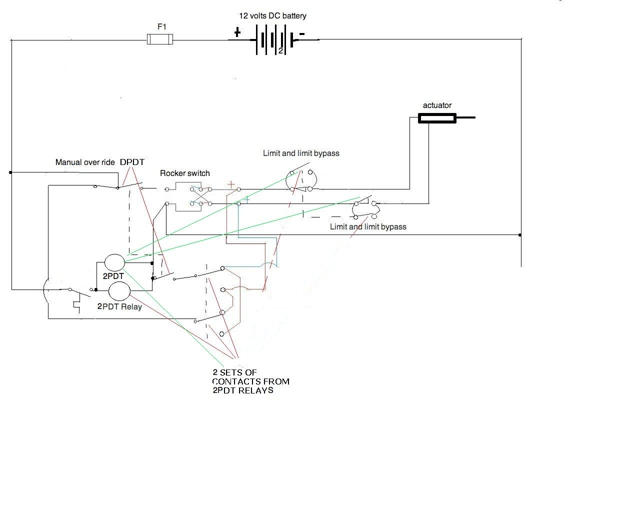 I Need A Wiring Diagram For 12v Application All Components Are Relays 12 Volt Graphic