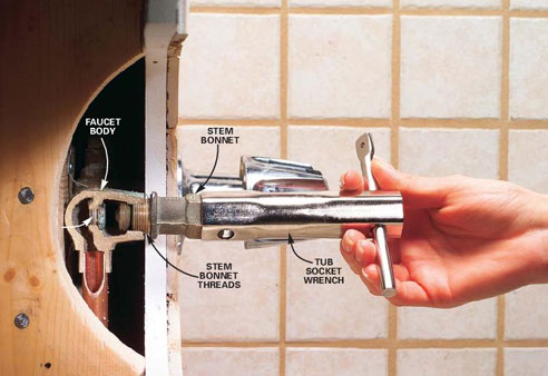 Installing Hot Water Stem Seat On 3handle Price Pfister Shower