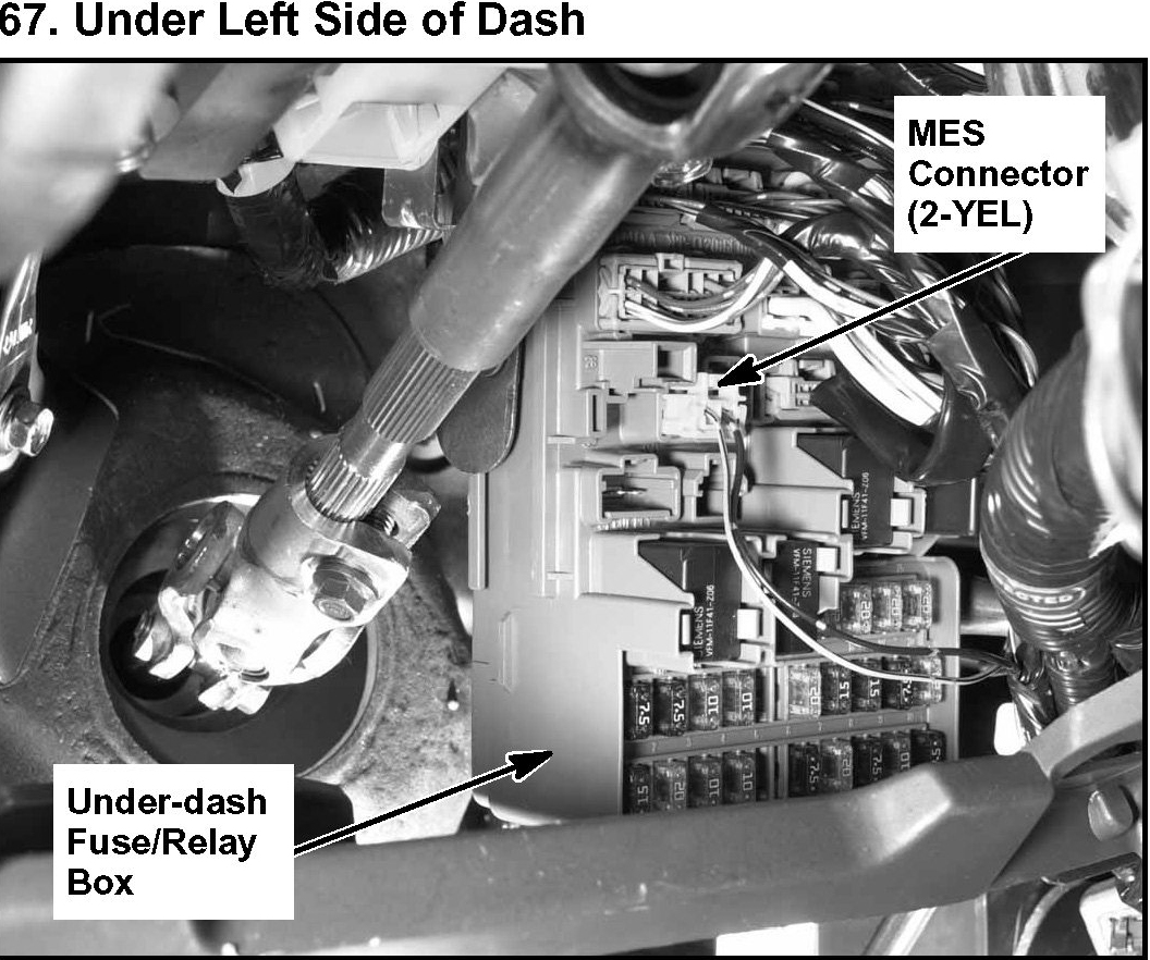 2005 Honda Civic Under Dash Fuse Box - Wiring Diagrams Schematics
