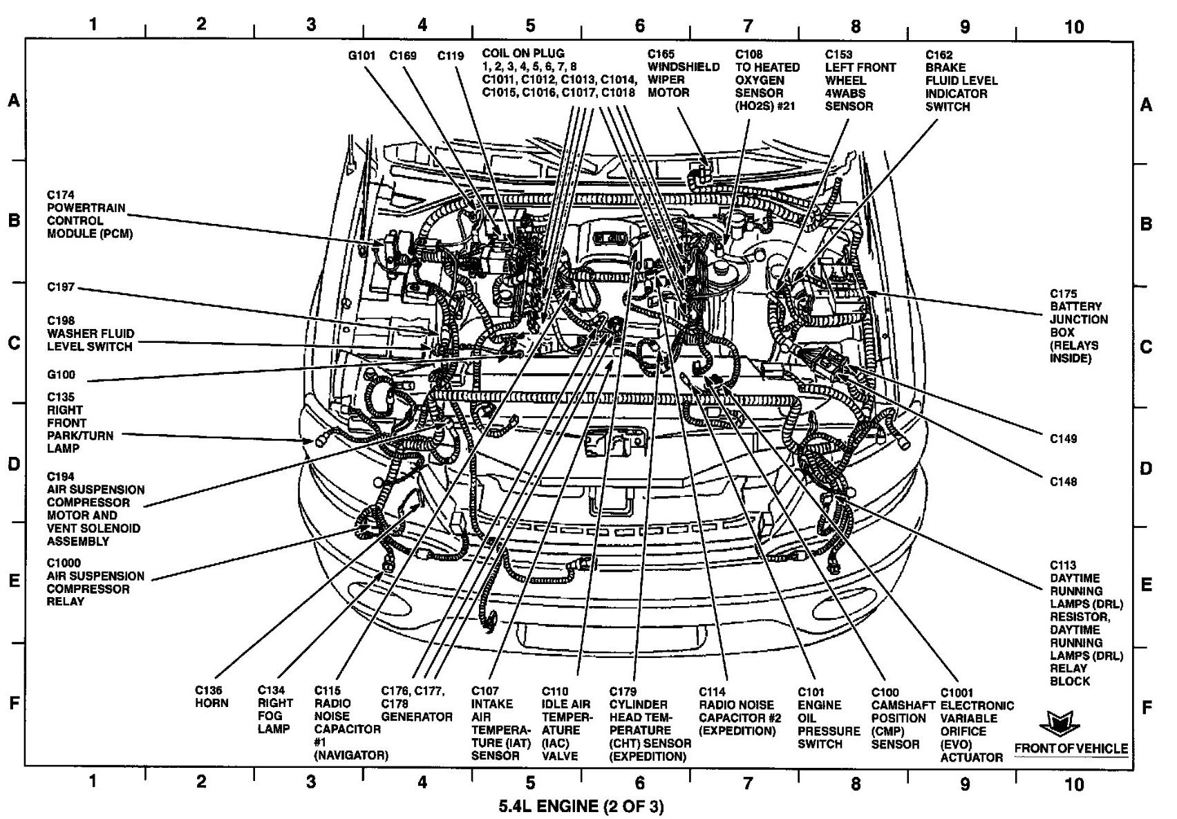 on volvo brake vacuum pump diagram