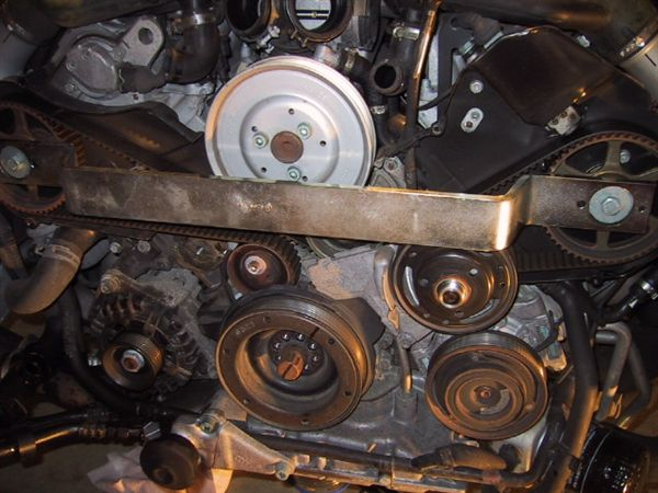 2001 audi a6 4.2 timing belt lining up the gears,timing marks, etc