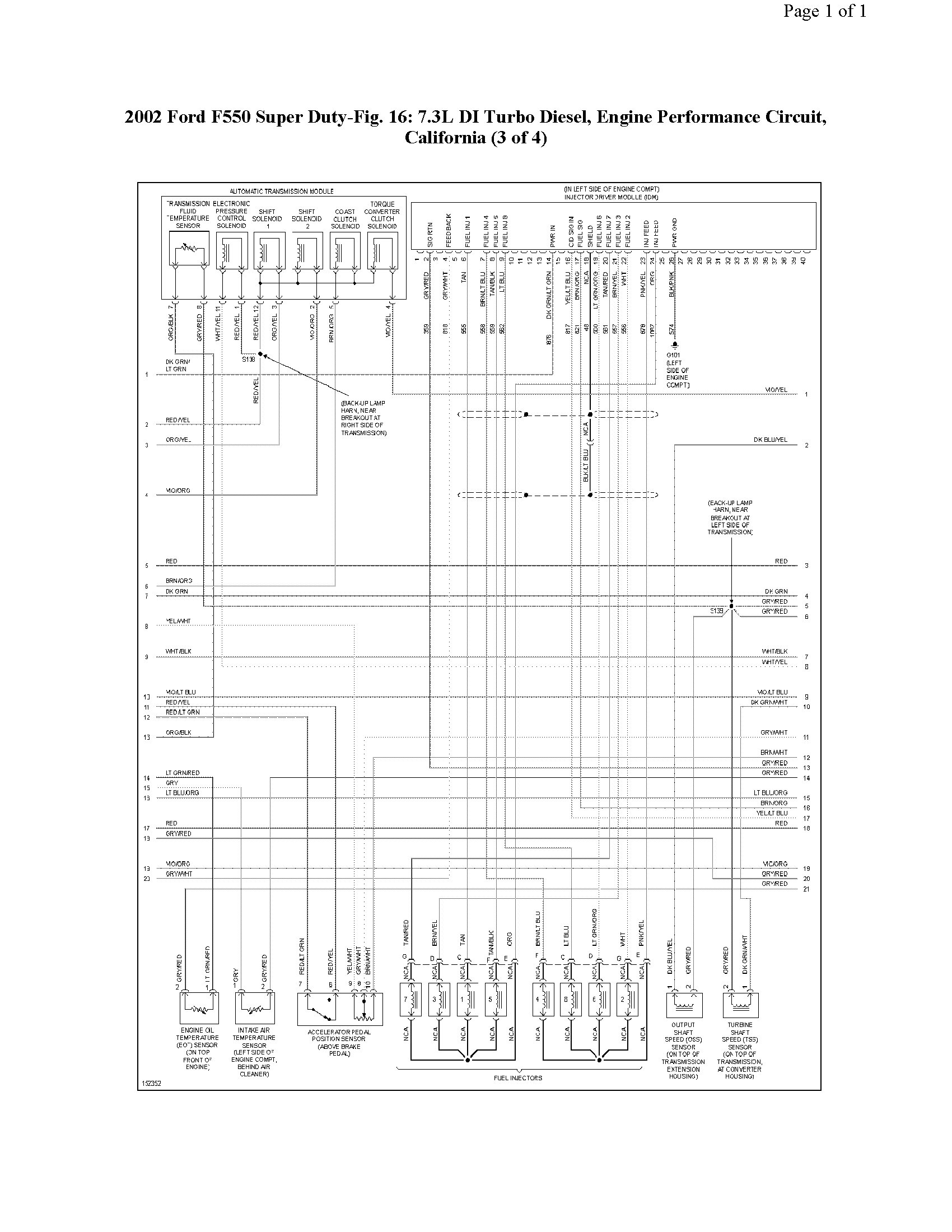 2002 Super Duty 7 3 Wiring Diagram Great Design Of 2000 F250 Sel Fuse Box 02 Ford Auto Powerstroke Injector Aih Relay 73