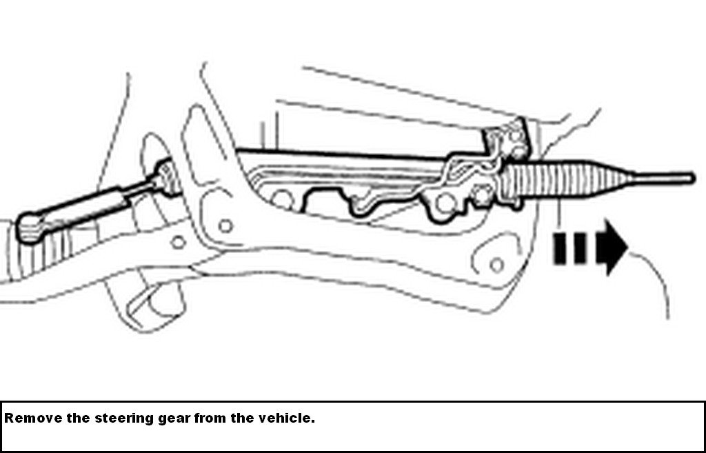 how do i remove rack and pinion on my 1999 ford explorer