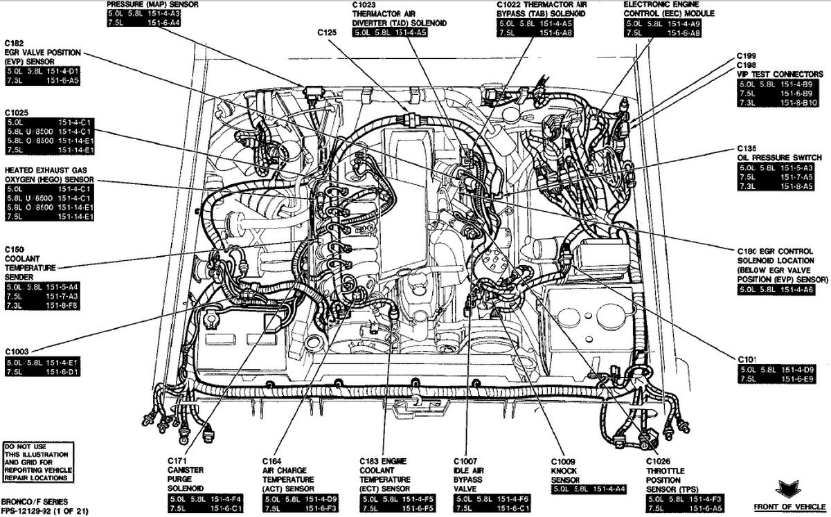 1991 grand marquis heater hose diagram